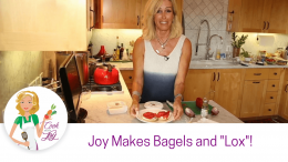 Gluten Free Bagels with Dairy Free Cream Cheese & Faux Lox