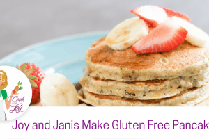 Joy and Janis Make Holiday Gluten Free Pankcakes